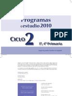 PROGRAMAS ESTUDIO CICLO 2