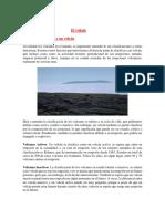 Clasificación de Los Volcanes