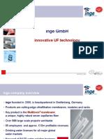 Inge BASF Ultrafiltration 1201