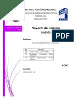 Unidad 5 Proyecto de Caminos