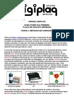 Manual Digiplaq -- Como Fazer Sua Primeira Placa de Circuito Impresso (Parte 2)