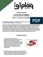Manual Digiplaq -- Como Fazer Sua Primeira Placa de Circuito Impresso (Parte 3)