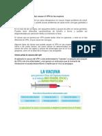 Alteraciones que pueden causar el VPH en las mujeres.docx