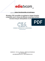 Rapport 2 Spc if Ication PDF
