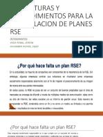 Estructuras y Procedimientos Para La Formulacion de Planes