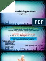 la formation et les développement de compétence