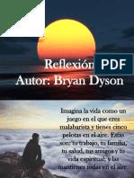 Reflexion de Bryan Dayson