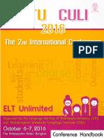 2ndLITU CULI2016 Handbook