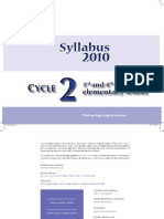 Syllabus Cycle 2