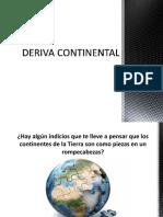 Deriva Continental Sismos11111