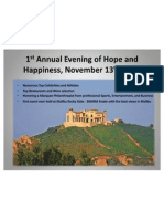 An Evening of Hope & Happiness Sponsorships