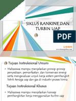 6. Siklus Rankine Turbin Uap
