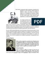 Biografias de Ex Presidentes de El Salvador