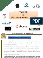 Administracion de Usuarios de LINUX