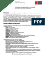 Protocolo Desarrollo de Seminario de Investigación 2017