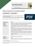 Aspectos Moleculares de La Encefalopatía Hepática