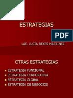 ESTRATEGIAS funcionales