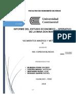 INFORME ECONOMICO OPERATIVO