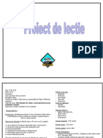 Proiect Didactic Istorie