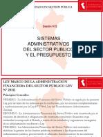 PPT N°1 Sistema Administrativo