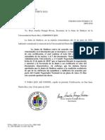 Certificacion 131 2009-10 En Ten Didos Con El CNN y La J.S