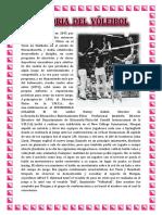 Historia Del Voley