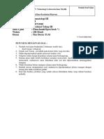 Evaluasi III Hematologi III