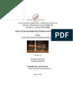 Monografia de Los Tratados Internacionales