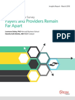 Payers and Providers Remain Far Apart