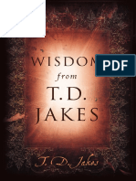 Wisdom From TD Jakes FREE