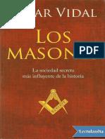 Cesar Vidal - Los Masones