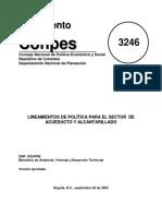 CONPES 3246 LINEAMIENTOS EMPRESAS DE SERVICIOS.pdf