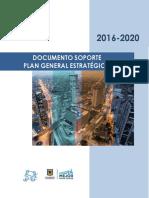 Documento_soporte Plan Estrategico EAAB PGE_2016-2020