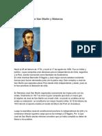 José Francisco de San Martin y Matorras