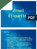 Email Etiquettes 860