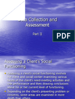 Data Collection and Assessment i i