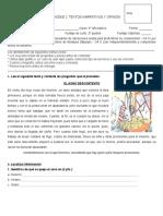 5° Año - Eval. Unidad 2 - Texto Opinión - Fábula - Artículo Opinión.