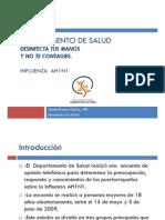 Encuesta EstudioAH1N1Conferencia-17-junio-09