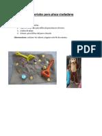 Materiales Para Plaza Ciudadana