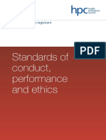 Ethics HCPC