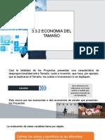 3.3.2 Economias de Tamaño Zarate y Oscar