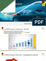 ALTEN Group in Romania - Corporate Presentation_2018 - Candidates