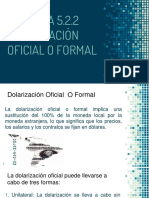 Dolarizacion Oficial