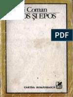Mihai Coman - Mitos și epos.pdf