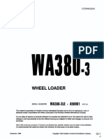 Shop Manual WA380-3LE Sn A50001