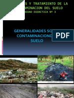 3. Contaminacion Del Suelo