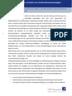 B2B-Marktanalysen Als Basis Von Unternehmensstrategien