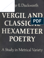 George Eckel Duckworth-Vergil and Classical Hexameter Poetry_ a Study in Metrical Variety-University of Michigan Press (1969)