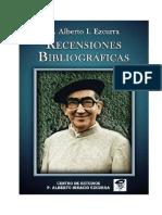 Padre Alberto Ezcurra Uriburu - Recensiones