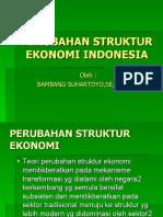 Perubahan Struktur Ekonomi Indonesia 8